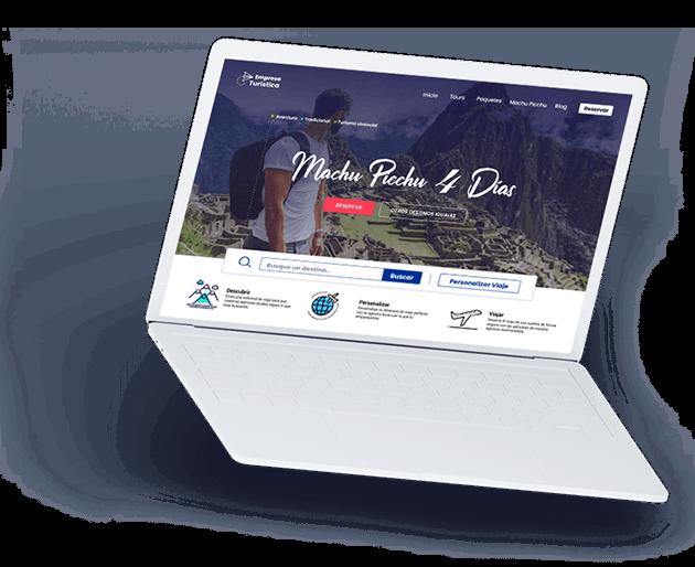 Páginas web cusco para agencia de viajes y turísmo en general